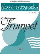 Classic Festival Solos (B-flat Trumpet), Volume 2 Piano Acc. [Piano Acc.]