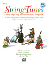 StringTunes - A Very Beginning Solo (or Unison) Songbook [Viola]