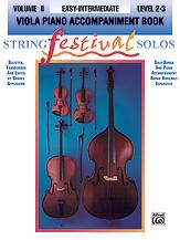 String Festival Solos, Volume II [Viola Piano Acc.]