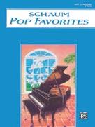 Schaum Pop Favorites, B : The Blue Book [Piano]