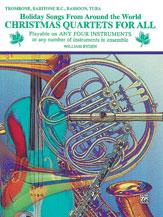 Christmas Quartets for All - Trombone