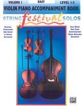 String Festival Solos, Volume I [Violin Piano Acc.]