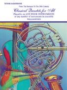 Classical Quartets for All [Tenor Saxophone]