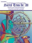 Sacred Trios for All [Cello/Bass]