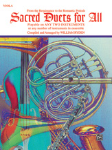 Sacred Duets For All - Viola