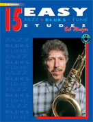 15 Easy Jazz, Blues & Funk Etudes (Eb)