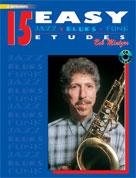 15 Easy Jazz Blues & Funk Etudes E-flat Instruments