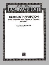 EIGHTEENTH VARIATION OP 43