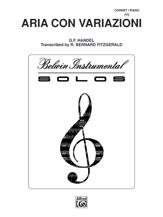 Aria Con Variazioni [Trumpet]