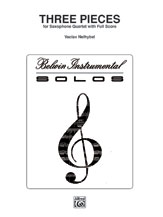 3 Pieces - Sax Quartet SATB