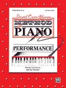 Glover Piano Performance Lvl 4