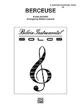 Berceuse - Baritone Sax and Piano