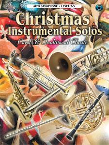 Christmas Instrumental Solos Alto Sax