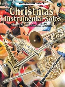 Christmas Instrumental Solos Tenor Sax