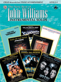 The Very Best of John Williams for Strings [Cello (with Piano Acc.)]
