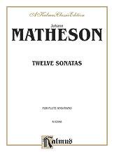 12 Sonatas - Flute and Piano