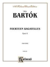 Fourteen Bagatelles, Op. 6 - Piano