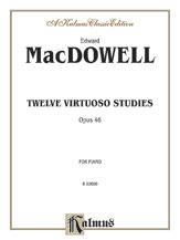 12 Virtuoso Studies FED-MA1 [piano] MacDowell