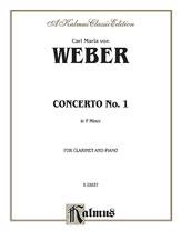 Clarinet Concerto No. 1 in F Minor, Opus 73 [Clarinet]