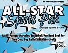 All-Star Sports Pak [E-Flat Baritone Saxophone]