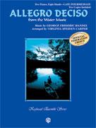 Allegro Deciso (from The Water Music) [piano quartet 2p8h] Piano Qrt