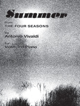 The Four Seasons: Summer [Violin]
