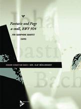 Fantasie and Fugue in A Minor, BWV 904 - Sax Quartet SATB