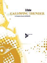 Galoping Thunder - Sax Quartet SATB/AATB