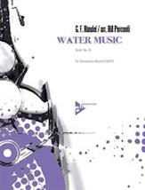 Water Music Suite No. 2 - Sax Quartet SATB