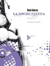 La Noche Festiva: 2. Tango del Amor - Sax Quartet SATB