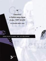 Concerto for 4 Violins in A Major, TWV 40:204 - Sax Quartet AAAA