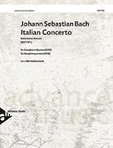 Italian Concerto, BWV 971 - Sax Quartet SATB