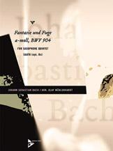 Fantasia and Fugue in A Minor, BWV 904 - Sax Quintet SAATB