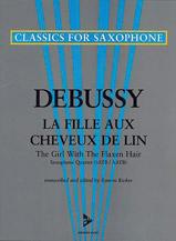 Girl with the Flaxen Hair (Fille aux Cheveux Lin) - Sax Quartet SATB/AATB