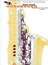 Blue Monk - Sax Quartet SATB/AATB