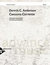 Canzona Corrente - Sax Quartet SATB