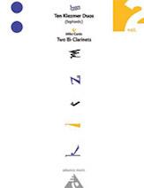 10 Klezmer Duos (Sephardic) - Clarinet Duet