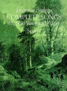 Brahms: Complete Songs for Solo Voice and Piano, Series I