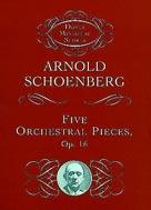 5 Orchestral Pieces - Miniature Score