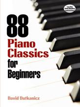 88 Piano Classics for Beginners [Piano]