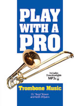 Play with a Pro Trombone Music w/mp3 download [Trombone]