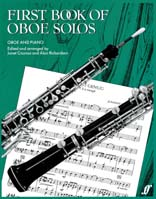 First Book of Oboe Solos - Oboe and Piano