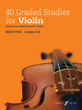 80 Graded Studies for Violin, Book Two [Violin] -