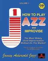 How To Play Jazz & Improvise Vol 1 BK/CD