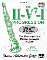 The I-V7-I Progression Vol 3 BK/CD