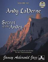 Andy LaVerne Secret of the Andes Vol 101 BK/CD