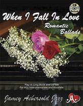 When I Fall in Love Romantic Ballads Vol 110 BK/CD