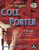 Cole Porter for Singers Vol 117 BK/CD