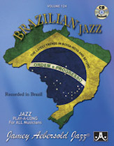 Brazilian Jazz Vol 124 BK/CD