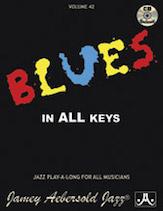 Blues in All Keys Vol 42 BK/CD